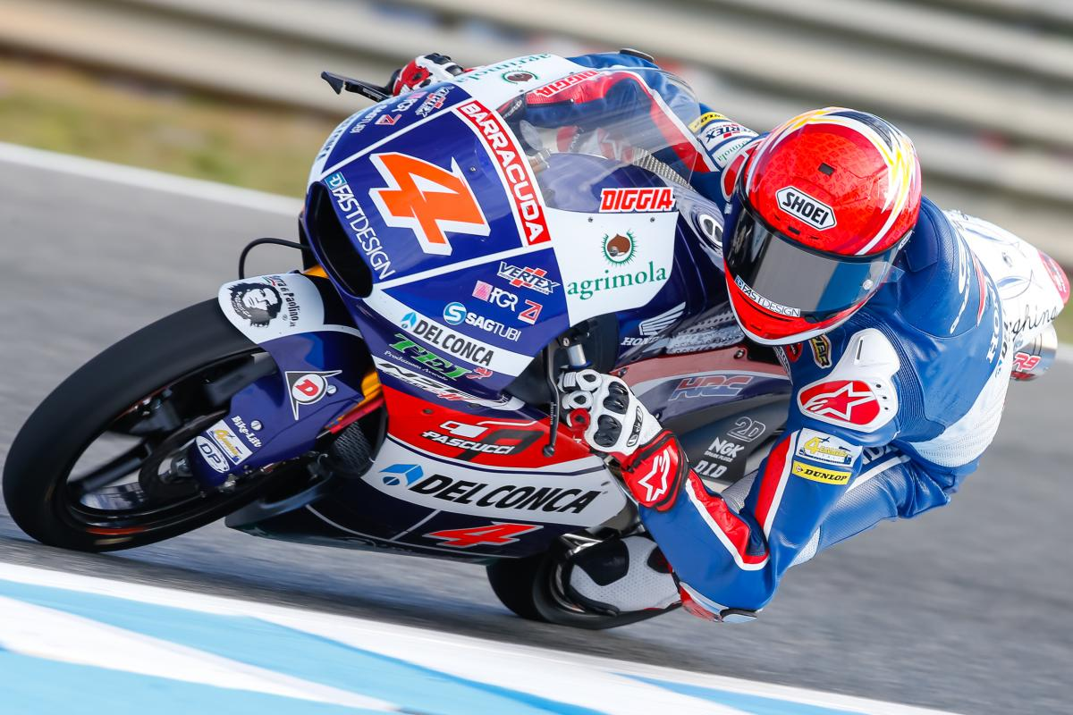 Di Giannantonio and Martin at Gresini in 2017 | MotoGP™
