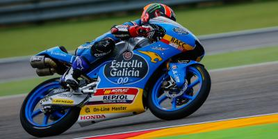 Canet opens MotorLand account on top in FP1