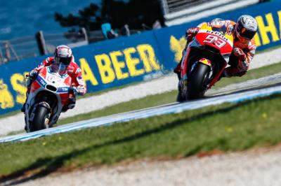 The duel continues: Marquez & Dovi split by 0.092s