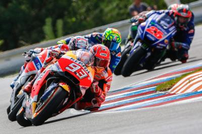 GP Recap: Marquez makes a mark on the title in the Czech GP