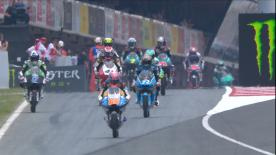The second Free Practice session for the Moto3™ World Championship at the Circuit de Barcelona-Catalunya