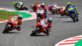 All the action from the full race session of the MotoGP™ World Championship at the Circuit de Barcelona-Catalunya