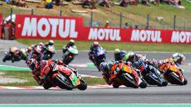 The full race session of the Moto2™ World Championship at the Circuit de Barcelona-Catalunya.