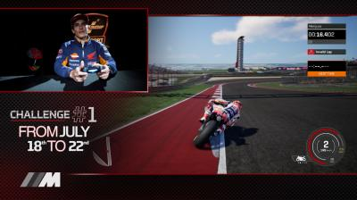 Marquez reveals his secrets to a fast lap of COTA!