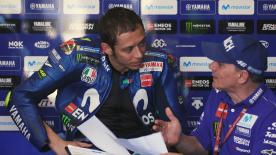 Rossi's coach, Luca Cadalora, talks about the difficulties the Movistar Yamaha has been facing in this year