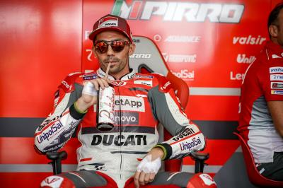 Pirro on track in Valencia for three day Ducati test